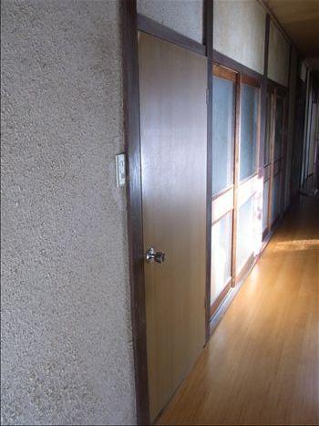 廊下側 工事前